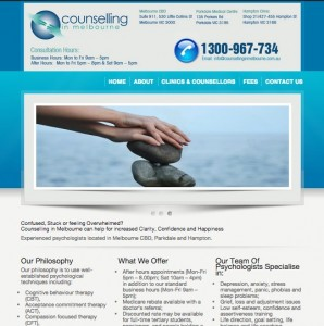 Counselling in Melbourne