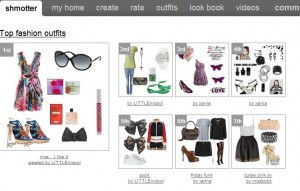 Become a virtual fashion stylist with shmotter