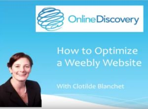 Weebly Tutorials