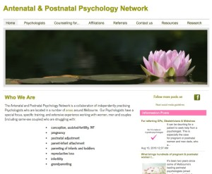 Antenatal and Postnatal Psychology